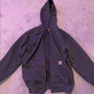 Carhart sweatshirt zip up